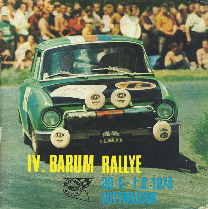 Barum Rally: Historie Barum Rallye