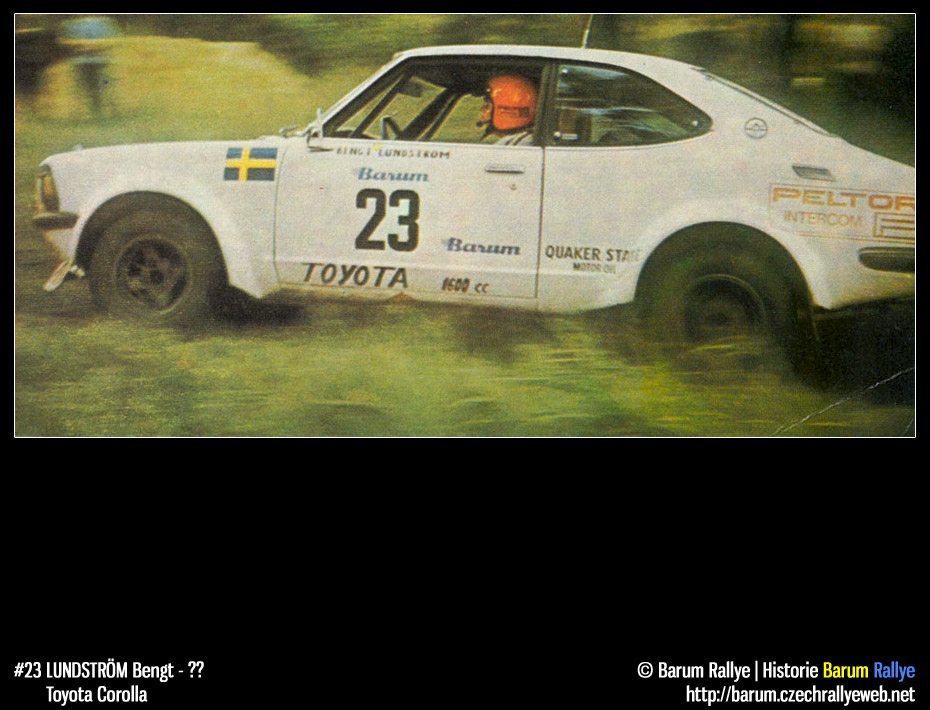 Historie Barum Rallye Barum Rallye 1977